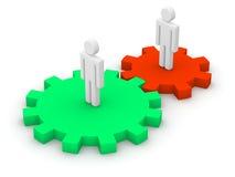 Interaktion Lizenzfreies Stockfoto