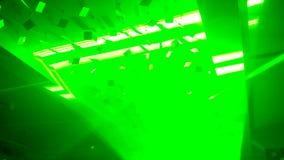 Interaktywnego wideo instalacyjny cyfrowy labitynt zdjęcie wideo