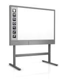 interaktywny whiteboard Fotografia Stock