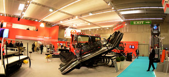 Interalpin 2011 Kässbohrer PistenBully Stock Photo