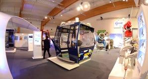 Interalpin 2011 neues Fahrerhaus Lizenzfreie Stockfotografie
