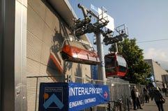 Interalpin Innsbruck 2011 Lizenzfreies Stockbild