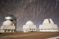 Interamerikanisches Beobachtungsgremium Cerro-Tololo Lizenzfreies Stockbild