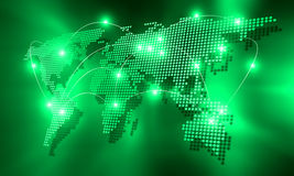 Interazione globale Immagini Stock Libere da Diritti