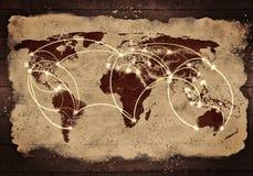 Interazione globale Fotografie Stock