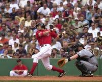 Interbase di Nomar Garciaparra Boston Red Sox Immagine Stock Libera da Diritti
