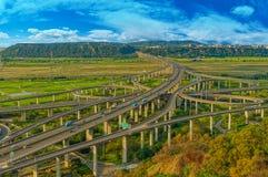 Intercâmbio da estrada Imagem de Stock