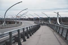 Intercâmbio da estrada Ponte Imagens de Stock