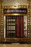 Intercambio de dinero en circulación Foto de archivo libre de regalías