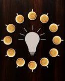 Intercambio de ideas Imagen de archivo