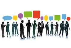 Intercambio de ideas del negocio Foto de archivo libre de regalías