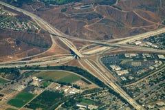 Intercambio de la carretera Imagen de archivo libre de regalías