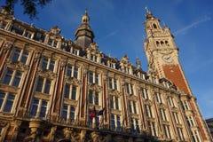 Intercambio de la colección antigua del significado de la bolsa de Vieille en Lille fotografía de archivo libre de regalías