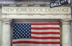 Intercambio del choque de NY Foto de archivo