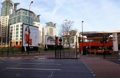 Intercambio del transporte de la cruz de Vauxhall Foto de archivo libre de regalías