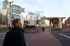 Intercambio del transporte de la cruz de Vauxhall Imagen de archivo libre de regalías