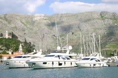 Interception commandée en vol de marina - Dubrovnik photographie stock
