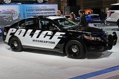Interceptor 2011 de la policía de Ford Foto de archivo