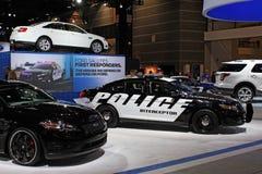 Interceptor 2011 de la policía de Ford Fotos de archivo libres de regalías
