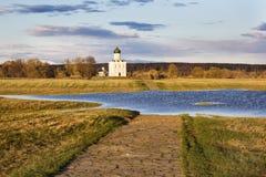 intercesi kościelny nerl Vladimir region, Rosja Obrazy Stock