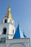 Intercession Cathedral. In Samara city. Built in 19th century. Russia Royalty Free Stock Images