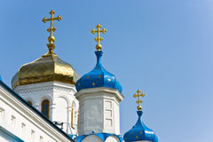 Intercession Cathedral. In Samara city. Built in 19th century. Russia Royalty Free Stock Photography