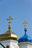 Intercession Cathedral. In Samara city. Built in 19th century. Russia Royalty Free Stock Photo