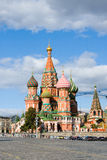 Intercession Cathedral at Red Square. Stock Images