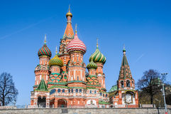 Intercession Cathedral Saint Basils Royalty Free Stock Images