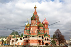 Intercession Cathedral St. Basil's on Red square, Moscow, Russia Stock Photo