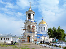 Intercession Cathedral in Voronezh Royalty Free Stock Photo