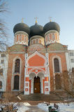 Intercession cathedral in winter, Izmaylovo Estate, Moscow, Russ Stock Photos