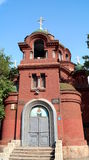 The Intercession Church is the only functioning Orthodox church in Harbin. China. Chinese Orthodox Church. The Intercession Church is the only functioning stock photo