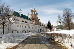 Intercession Church and Maryinsky Chambers. 1687 - Stock Photography