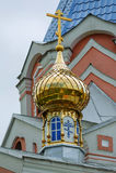 Intercession Orthodox Church Uzhgorod Carpathians in the First World War, Uzhhorod, Ukraine Royalty Free Stock Images