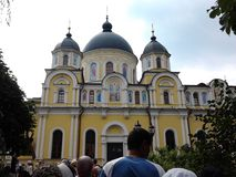 Intercession Pokrovsky Monastery Stock Photos
