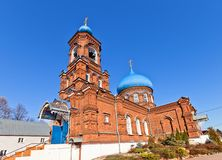 Intercession of Theotokos church (1902). Russia Royalty Free Stock Images