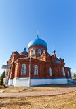 Intercession of Theotokos church (1902). Russia Royalty Free Stock Photography