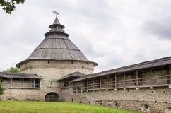 Intercession tower, Pskov Royalty Free Stock Photos