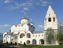 intercessionladynunnekloster vår russia s Royaltyfria Foton