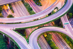 Interchange closeup Royalty Free Stock Photography