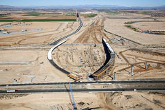 Interchange Construction Stock Photography