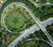 Interchange highway Stock Images