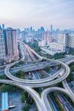 Interchange road Stock Photo