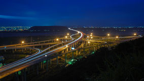 The interchange system of highway Stock Photography