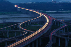 The interchange system of highway Royalty Free Stock Photos