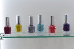 Intercharm XII International Perfumery and Cosmetics Exhibition Moscow Autumn Nail Polish Stock Images