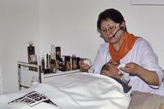 Intercharm XVI zawody międzynarodowi wystawa fachowi kosmetyki i wyposażenie dla piękno salonów Obraz Stock