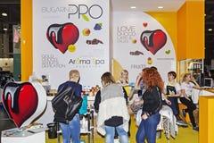 Intercharm XVII zawody międzynarodowi wystawa fachowi kosmetyki i wyposażenie dla piękno salonów Obrazy Stock