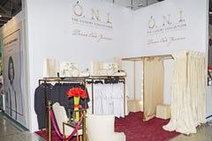 Intercharm XVII zawody międzynarodowi wystawa fachowi kosmetyki i wyposażenie dla piękno salonów Zdjęcia Stock